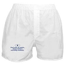 Funny Nursing Student Boxer Shorts