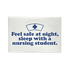 Funny Nursing Student Rectangle Magnet