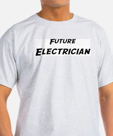 Future Electrician Ash Grey T-Shirt