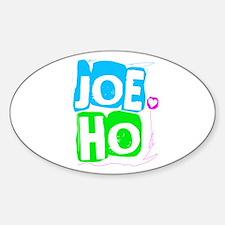 Joe Jonas Ho Oval Decal