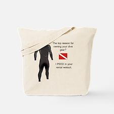 Wetsuit Tote Bag