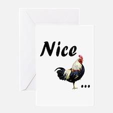 Nice... Greeting Card