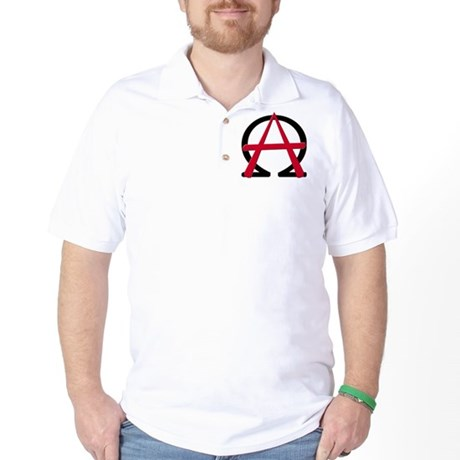 Christain Anarchy Golf Shirt
