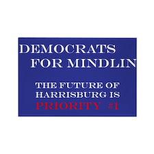 Democrats For Mindlin Rectangle Magnet