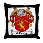 O'Leahy Coat of Arms Throw Pillow