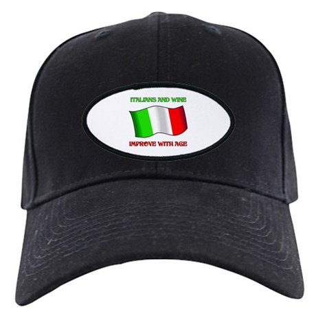 Italians and Wine Improve With Age Black Cap