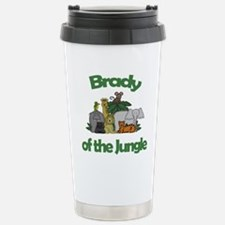 Brady of the Jungle Travel Mug