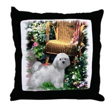 Havanese Art Throw Pillow