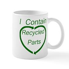 I Contain Recycled Parts Mug