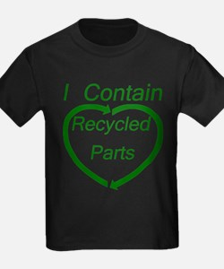 I Contain Recycled Parts T