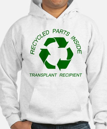 Recycled Parts Inside Hoodie