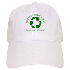 Recycled Parts Inside Baseball Cap