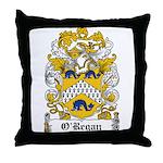 O'Regan Coat of Arms Throw Pillow