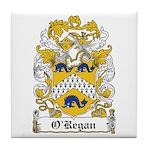 O'Regan Coat of Arms Tile Coaster