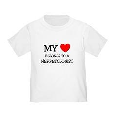 My Heart Belongs To A HERPETOLOGIST T
