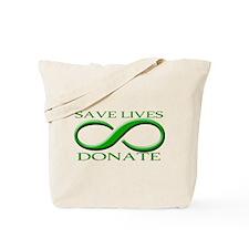 Save Lives. Donate. Tote Bag