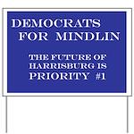 Democrats For Mindlin Yard Sign