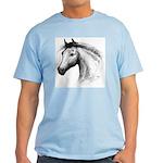 Black Line Horse Light T-Shirt