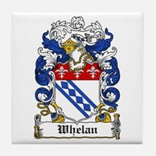 Whelan Coat of Arms Tile Coaster