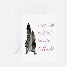 Mush! Greeting Cards (Pk of 10)