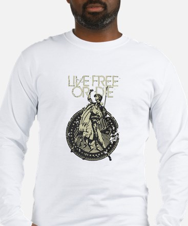 Minuteman! Live Free or Die!! Long Sleeve T-Shirt