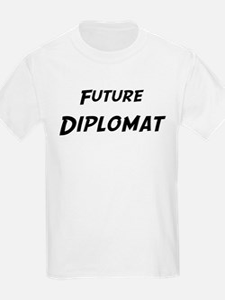 Future Diplomat Kids T-Shirt