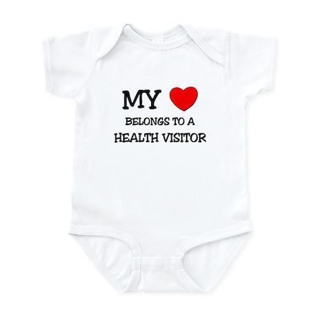 My Heart Belongs To A HEALTH VISITOR Infant Bodysu