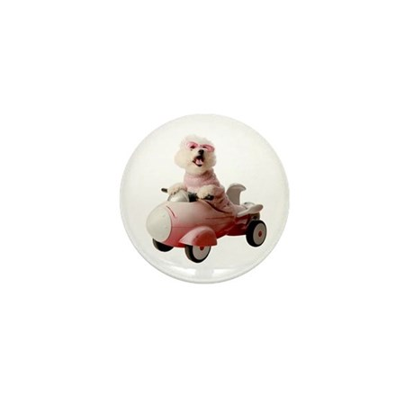 Fifi the Bichon Frise Mini Button (10 pack)