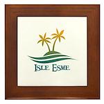 Isle Esme Framed Tile