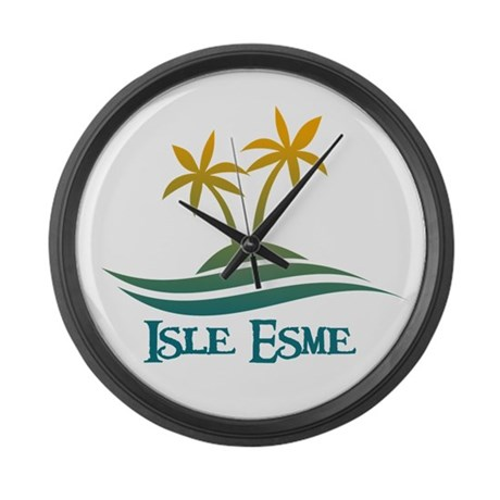 Isle Esme Large Wall Clock