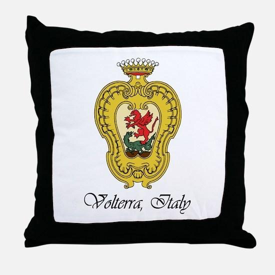 Volterra Italy Throw Pillow
