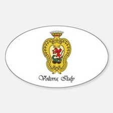 Volterra Italy Oval Decal