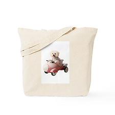 Funny Bichon Tote Bag