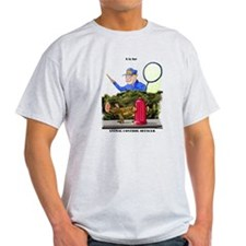 funny dog catcher gift produc T-Shirt