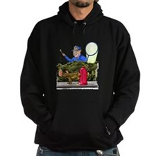 funny dog catcher gift produc Hoodie