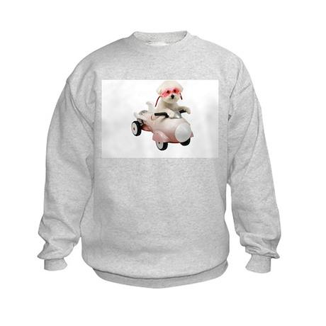 Bichon Fun #4 Kids Sweatshirt