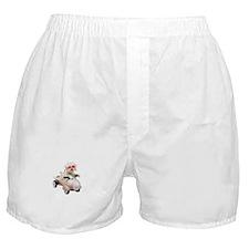 Bichon Fun #4 Boxer Shorts