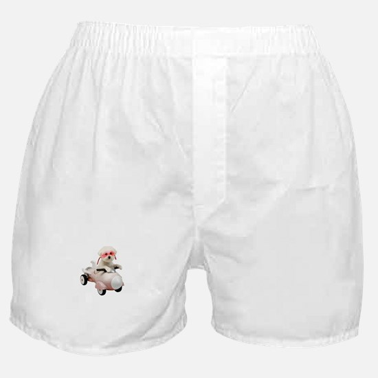 Bichon Fun #4 Boxer Shorts