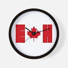 Unique Canada souvenir Wall Clock