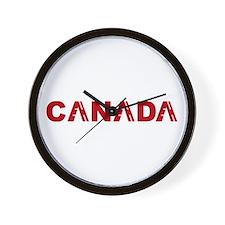 Cute Canadian souvenirs Wall Clock