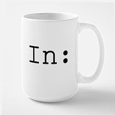 Fade In: Large Mug