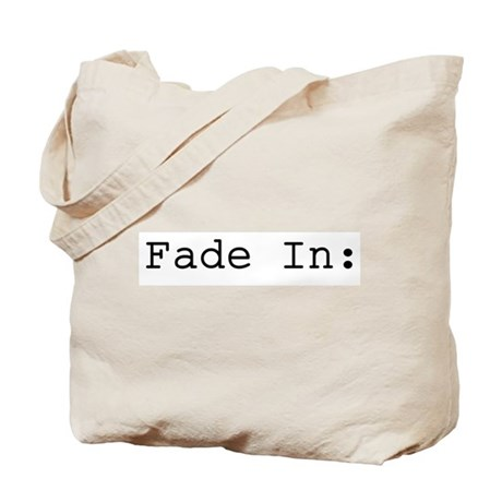 Fade In: Tote Bag