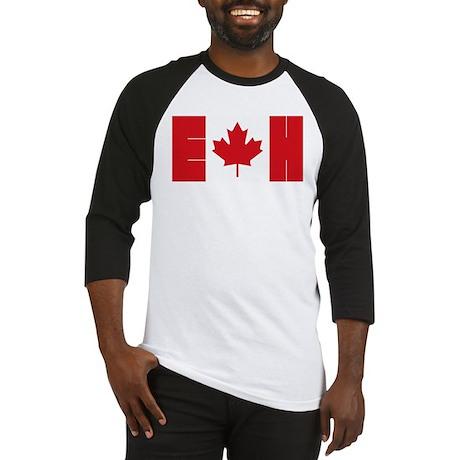 Canadian Flag Baseball Jersey