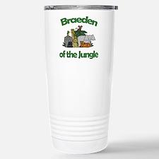 Braeden of the Jungle Stainless Steel Travel Mug