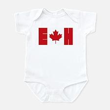 Canadian Flag Body Suit