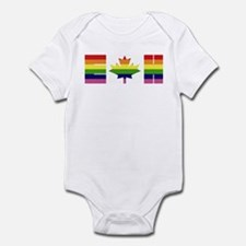 Cute Canadian patriotism Infant Bodysuit