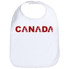 Cute Canada holiday Bib