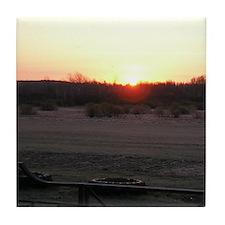 Sunrise 0055 Tile Coaster