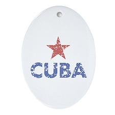 Cuba Oval Ornament