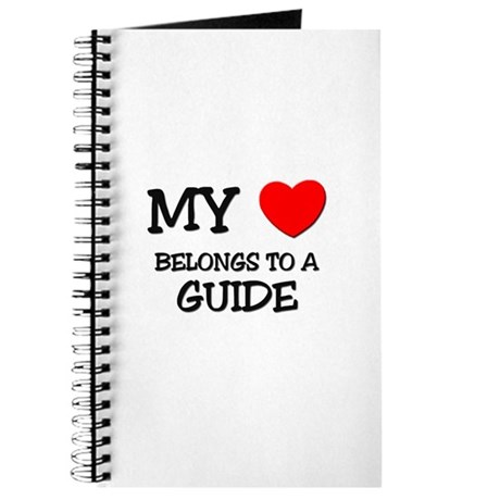 My Heart Belongs To A GUIDE Journal